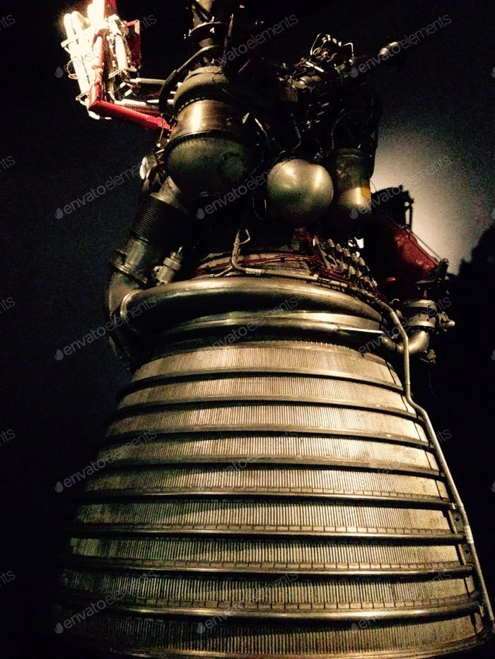Rocket engine from a spaceship
