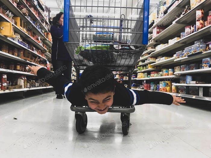 Shopping cart flyer!