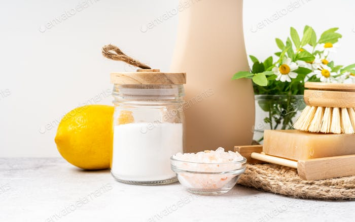 Items for homemade cleaners product