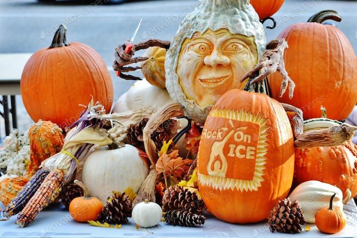 Pumpkin carvings 🎃