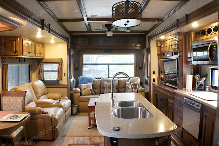 Camping in the RV