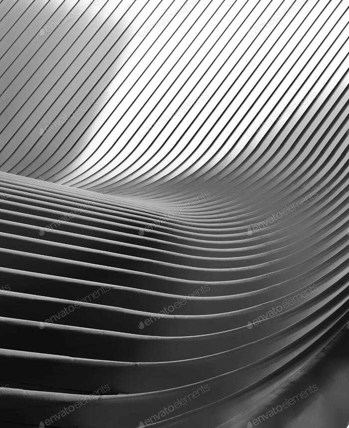 Modern architecture building abstract