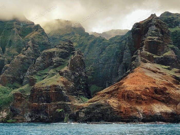 Amazing Kauai shoreline, NaPali.