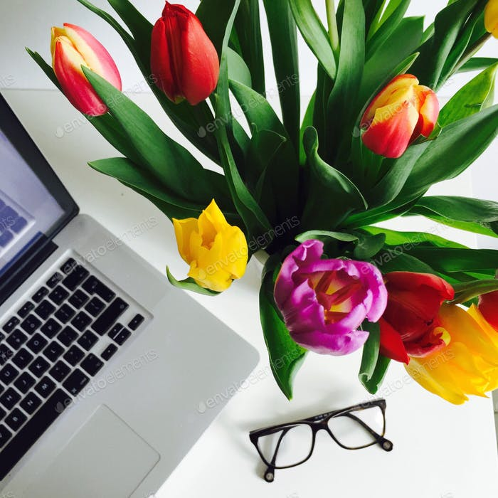 Spring helping in productivity 💐