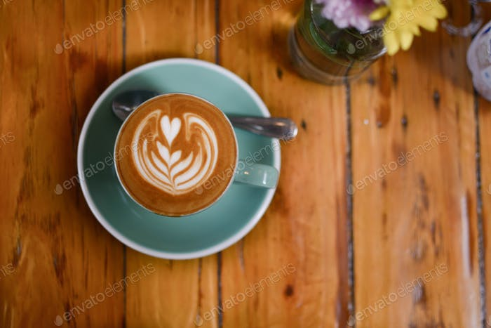 Kaffee bei Crumb & Coaster