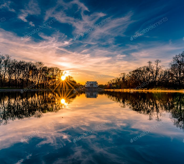 The Reflecting Pool in DC