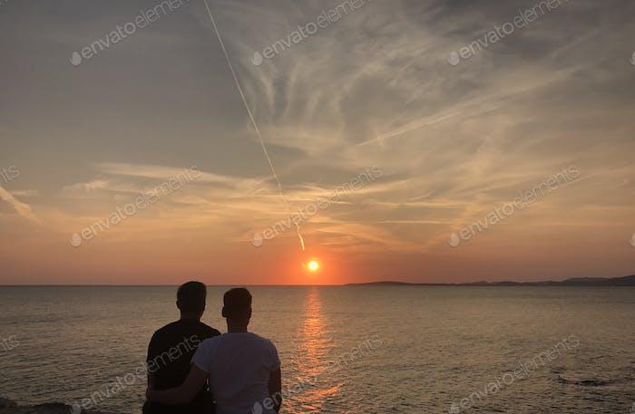 Love is Love Sunset