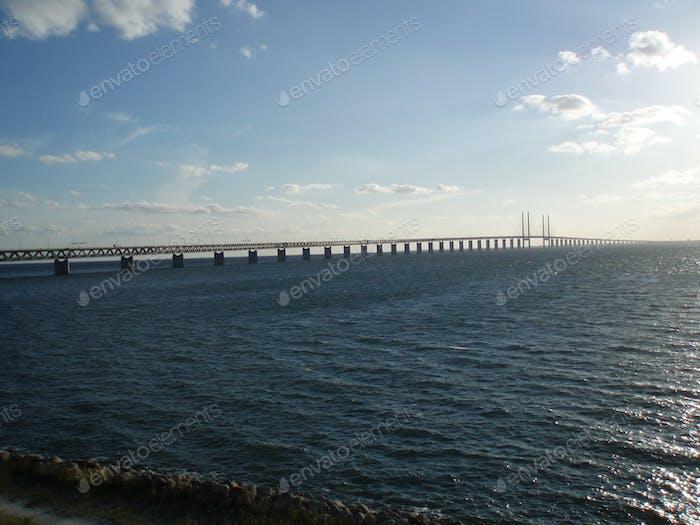 Bridge Malmo - Copenhagen