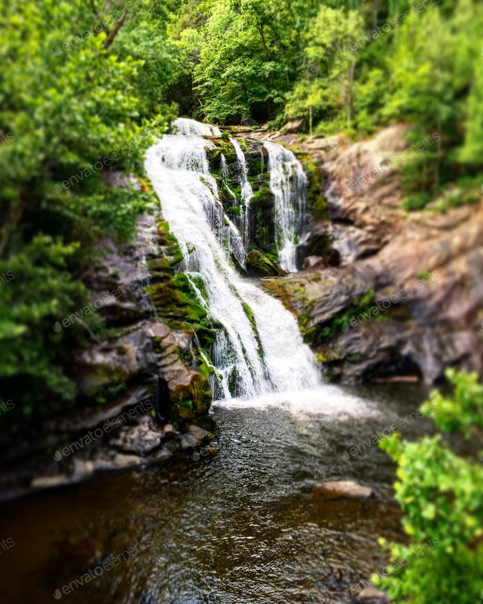 Bald River Falls in Tellico Plains, TN