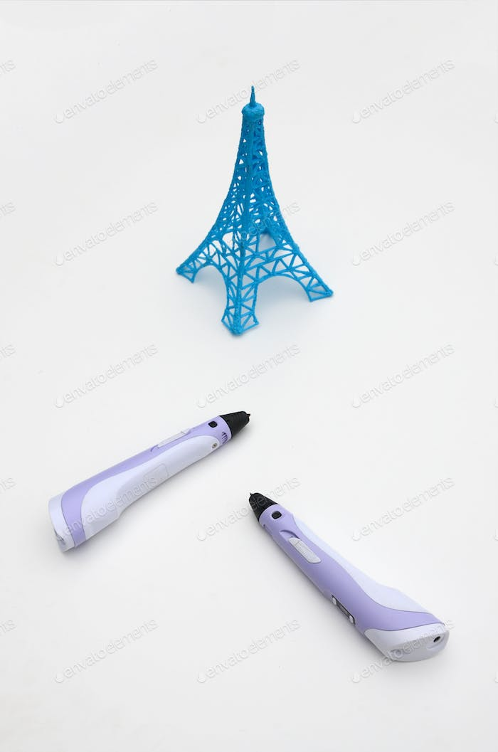 3d handle pen and 3d painting figures