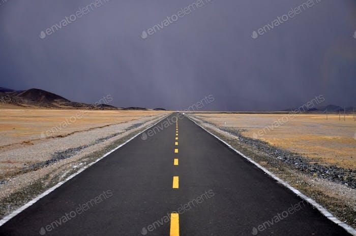 Road in Tibet
