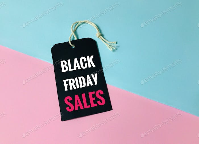Black Friday sales for copy space