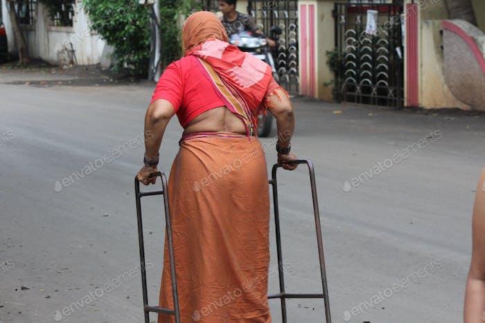 Behinderung, aber bereit