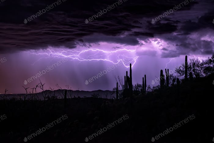 Tormenta eléctrica de Arizona