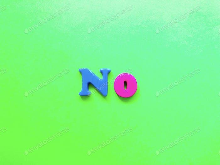 No. Alphabet. Alphabets. Alphabet letters. Word. Fridge magnets. Colorful image.