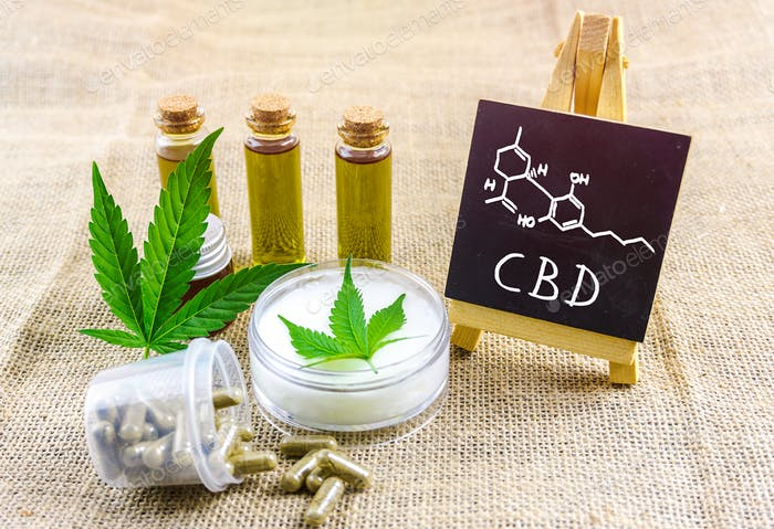 Cbd oils and topical cream