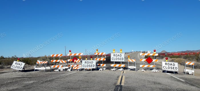 Route 66 - Road Closed