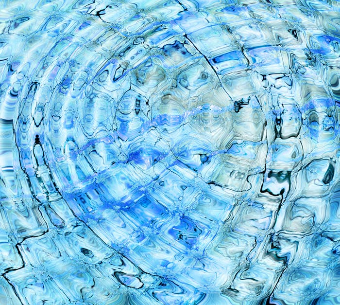 Abstract concept of water