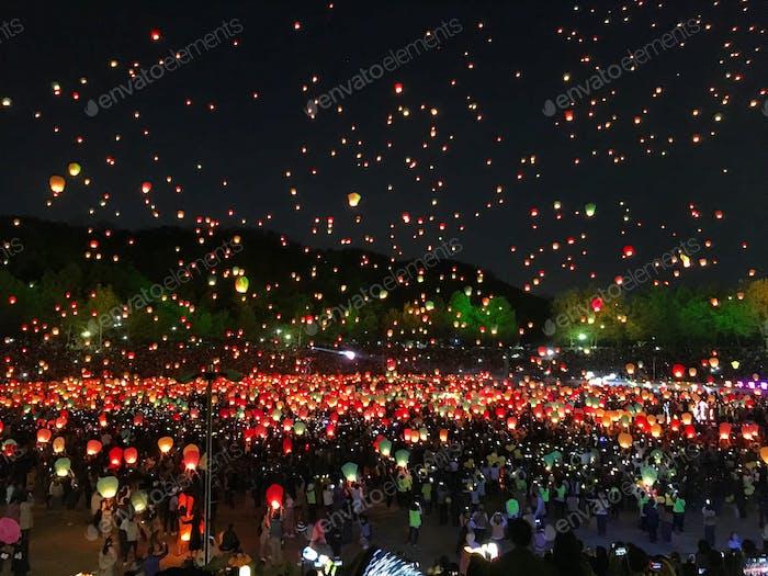 Lantern Festival in Daegu, South Korea