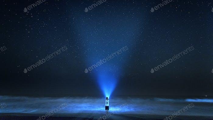 Suche nach dem Licht in