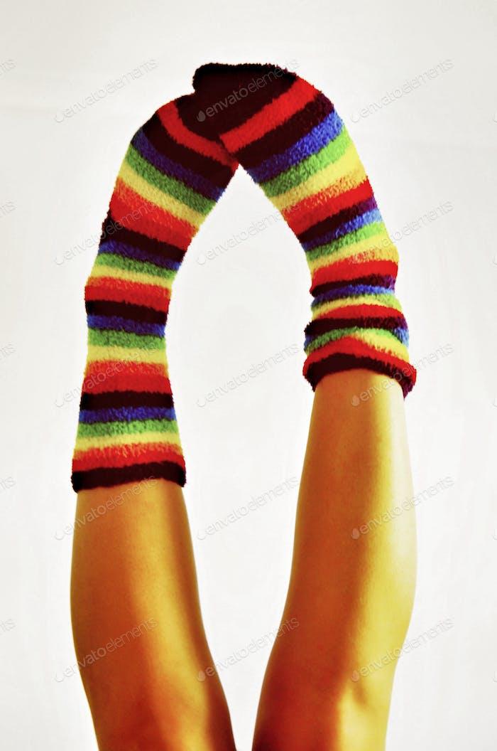 Bright socks