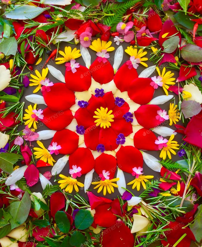 ❈ Flower Mandala 🌸🌿