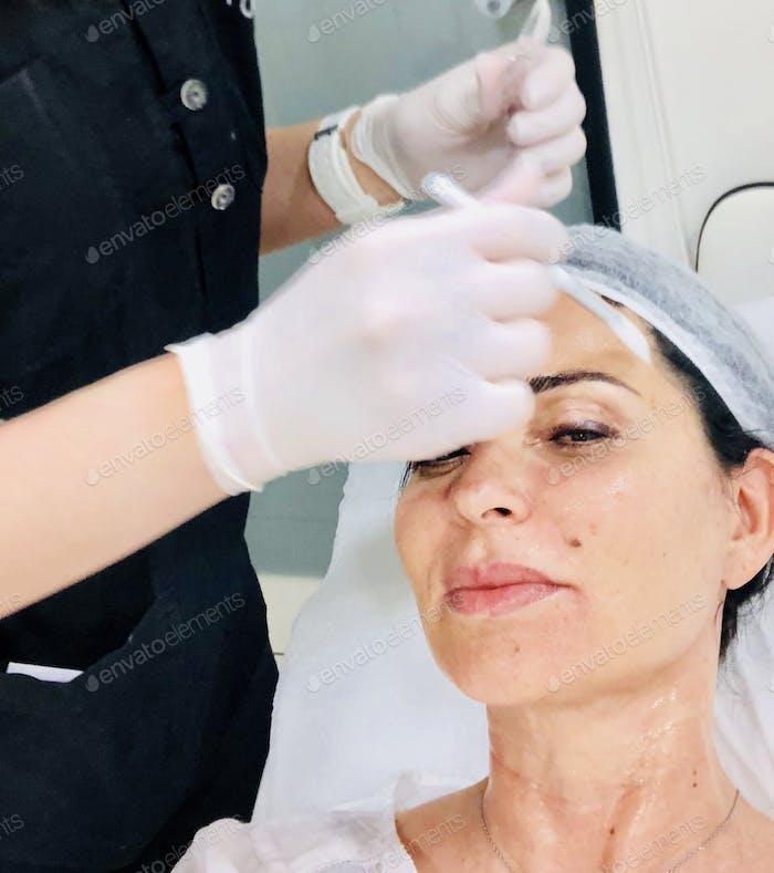 Aesthetics medical rejuvenation non invasive facial procedures plastic surgery