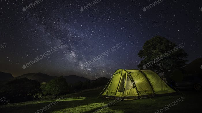 Milkyway camping