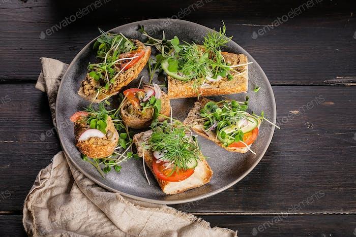 Traditional Mediterranean cuisine.