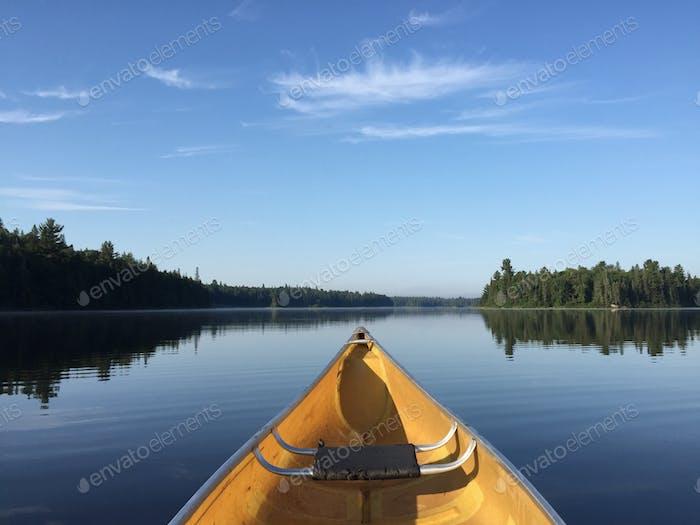 Early Morning Canoe!
