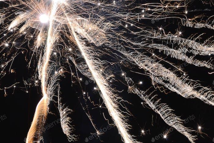 Feuerwerk-Effekt