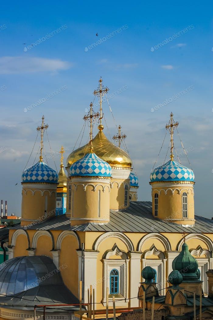 Orthodox Church in Kazan, Russia