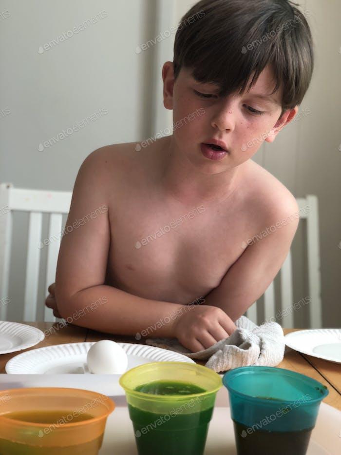 Sterben hart gekochte Eier für Esser