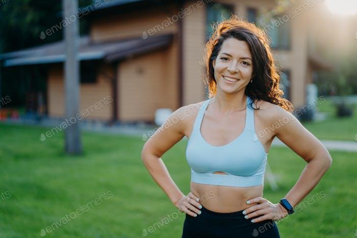 Portrait einer Sportfrau