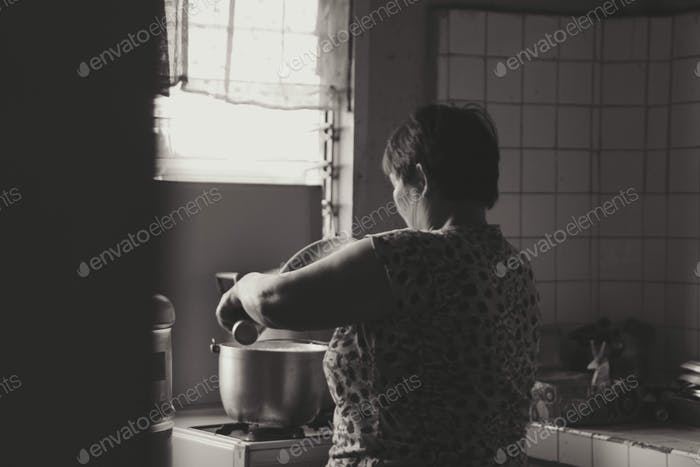 Granny Cooking