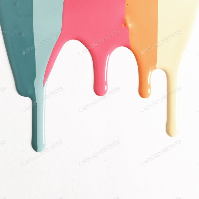 Paint drips ... 🌈