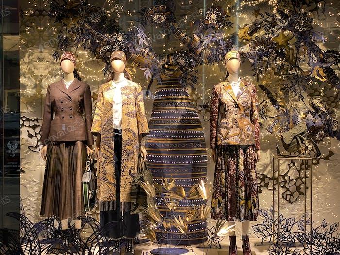 Fashion trend in Ginza Tokyo