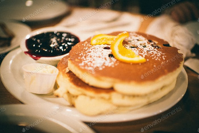 Breakfast at a Diner