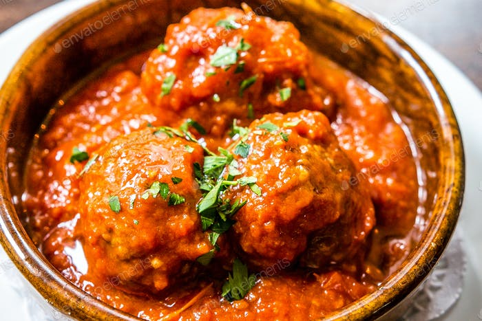 Meatballs Tapas