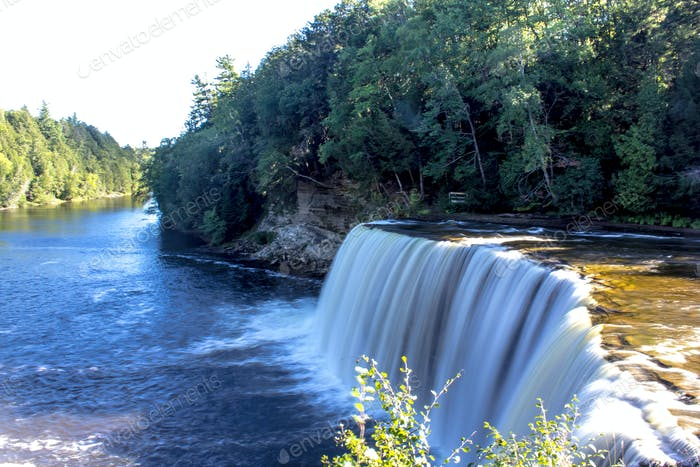 Upper falls in the UP