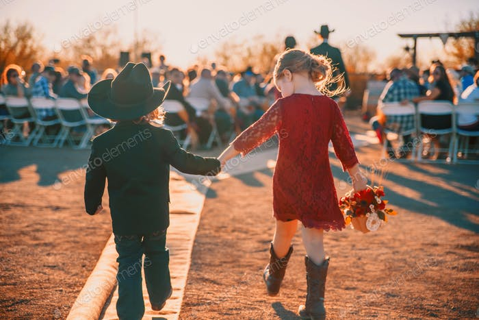 I'm a wedding photographer and this particular wedding was my very western best friend's daughter.