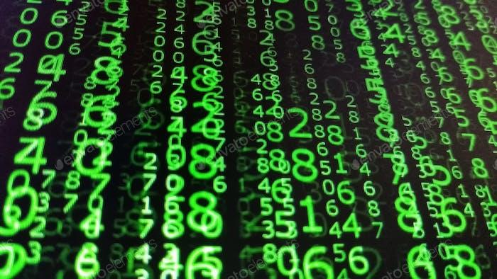 Matrixes de números binarios