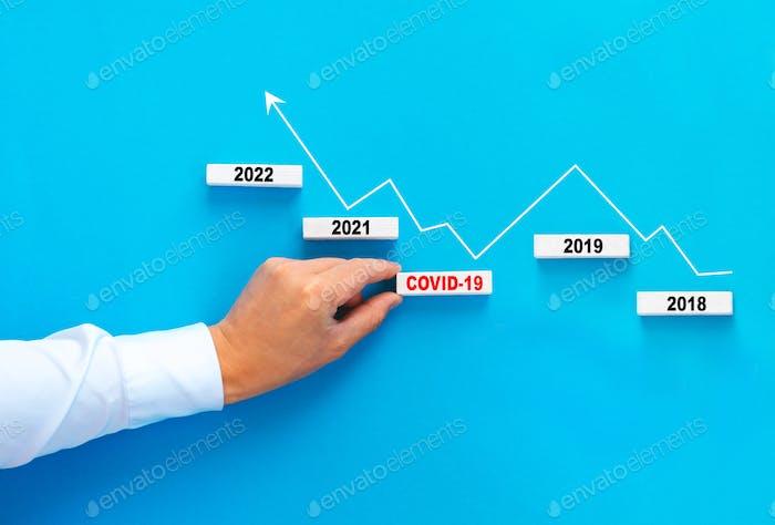 Crisis económica mundial debido a la pandemia de Covid-19. Ayuda para el desarrollo de negocios y economía