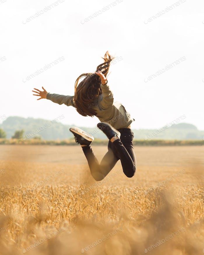 Freedom in the corn fields of Denmark