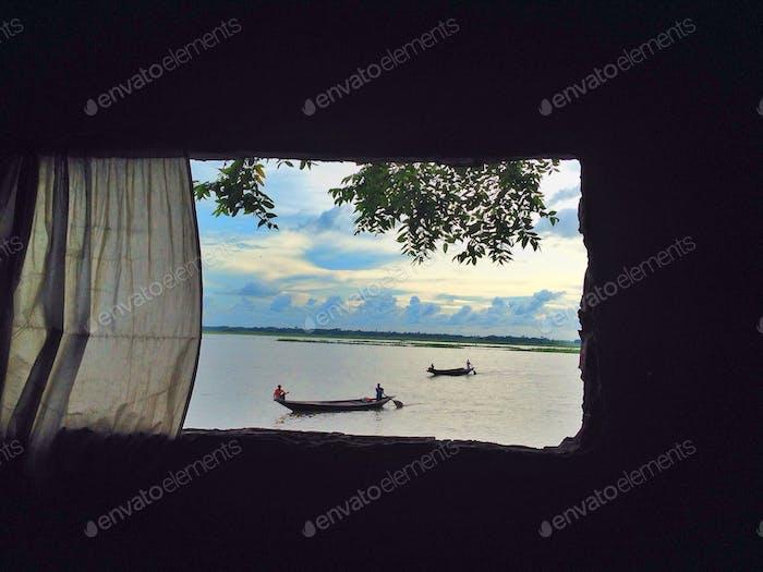 Window of a poem