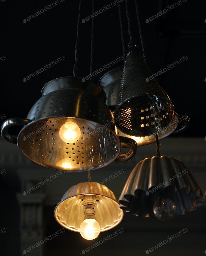 Sieb Beleuchtung
