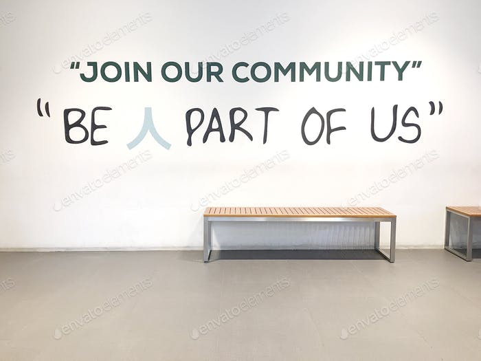 be a part of us