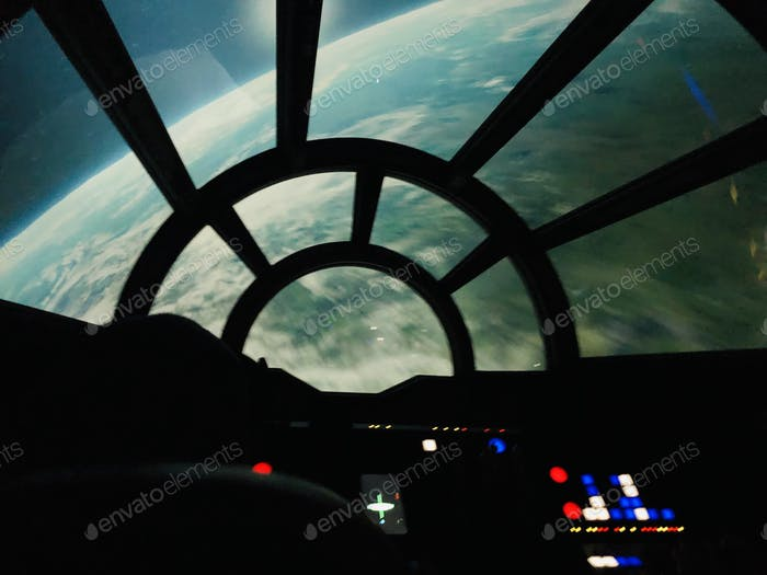 Flying the Millenium Falcon