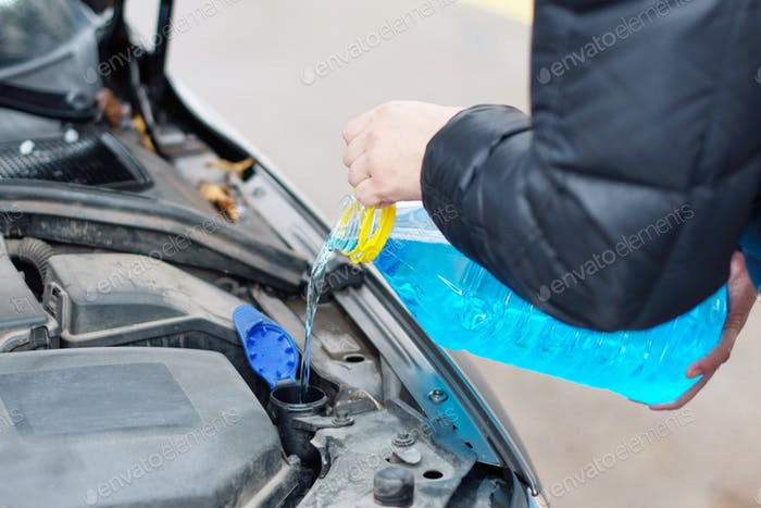 washer fluid for car windows