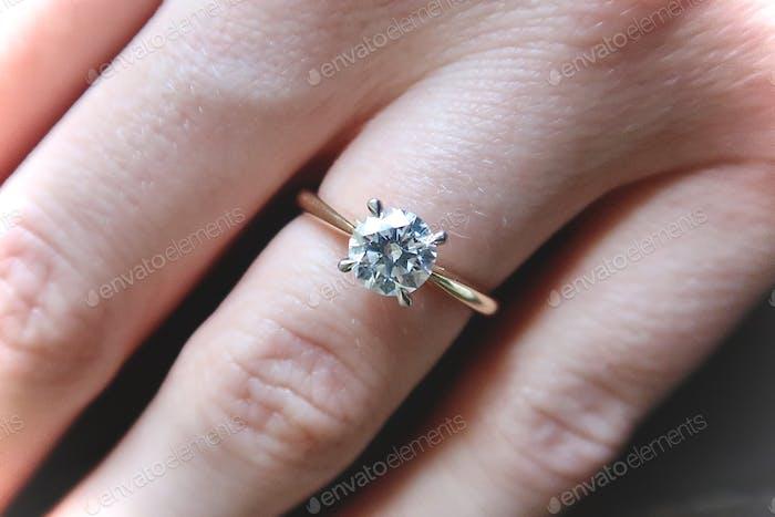 Diamant Verlobungsring